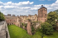 Heidelberg Castle_ Baden Wuerttemberg, Allemagne Image stock