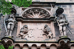 Heidelberg castle, detail Stock Photography