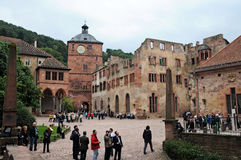 Heidelberg castle Stock Photos