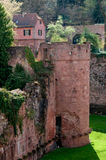 Heidelberg castle in Germany. Castle in Heidelberg, Germany,Baden-Wurttemberg Royalty Free Stock Images