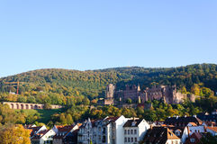 Heidelberg Castle in Germany Royalty Free Stock Photography