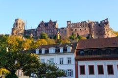 Heidelberg Castle in Germany stock photos