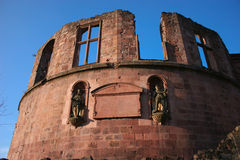 Heidelberg Castle in Germany Stock Photography
