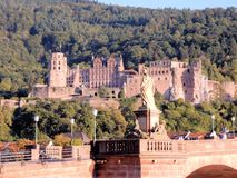 Heidelberg Castle - Heidelberger Schloss - Architectural masterpiece of the renaissance – Germany Stock Photo