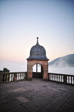 Heidelberg castle. Observation point Royalty Free Stock Photos
