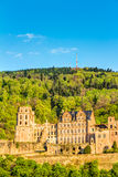 Heidelberg Castle ruin Royalty Free Stock Photos
