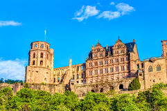 Heidelberg Castle ruin Stock Photo