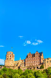 Heidelberg Castle ruin Royalty Free Stock Photo