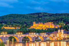 Heidelberg Castle ruin Stock Photos