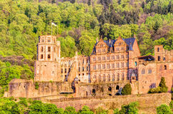Heidelberg Castle ruin Royalty Free Stock Photography