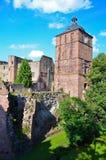 Heidelberg, castle ruins 2 Royalty Free Stock Photo