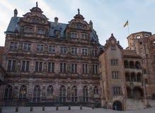Heidelberg Castle in spring Royalty Free Stock Photos