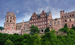Heidelberg Castle in Heidelberg, Germany Royalty Free Stock Images