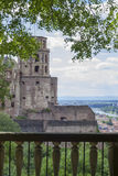 Heidelberg castle tower Stock Images