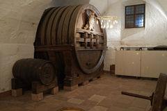 Heidelberg castle wine vat Stock Photos