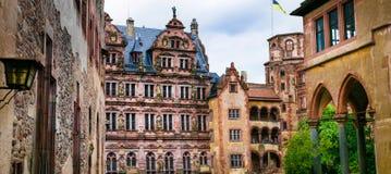 Heidelberg castles - Germany Royalty Free Stock Photography