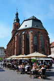 Heidelberg Cathedral Royalty Free Stock Photography