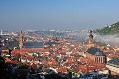 Heidelberg churches architecture Stock Photos