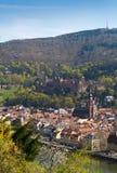 Heidelberg - città antica Fotografia Stock Libera da Diritti