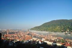 Heidelberg city from Germany Royalty Free Stock Photos