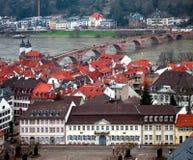 Heidelberg City View Stock Images