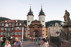 Heidelberg, Deutschland Lizenzfreie Stockbilder