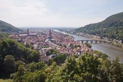 Heidelberg in Deutschland Lizenzfreies Stockbild