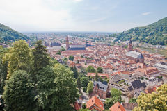 Heidelberg in Deutschland Stockfotos