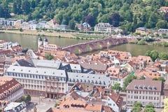 Heidelberg in Deutschland Lizenzfreie Stockbilder