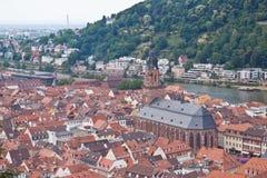 Heidelberg in Deutschland Lizenzfreie Stockfotografie