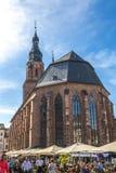 Heidelberg domkyrka i Tyskland Arkivbild