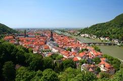 Heidelberg em Alemanha Fotos de Stock Royalty Free