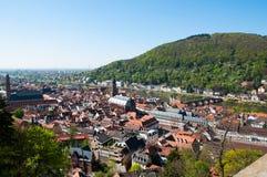 Heidelberg, en la colina Fotos de archivo