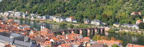 Heidelberg in Germania fotografia stock libera da diritti