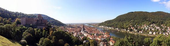 Heidelberg in Germania Fotografie Stock Libere da Diritti