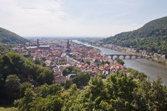 Heidelberg in Germany Royalty Free Stock Image