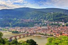Heidelberg, Germany. Heidelberg city in the morning, Germany royalty free stock photo