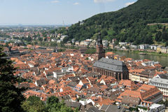 Heidelberg, Germany. A city scape of the famous town of Heidelberg, Germany Royalty Free Stock Photo