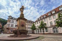 Heidelberg - Germany. Heidelberg city town square, Germany Royalty Free Stock Image