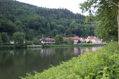 Heidelberg Germany nekar river Stock Images