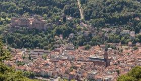 Heidelberg Germany Panorama Stock Images
