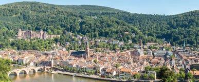 Heidelberg Germany Panorama Royalty Free Stock Photos
