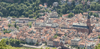 Heidelberg Germany Panorama Royalty Free Stock Images