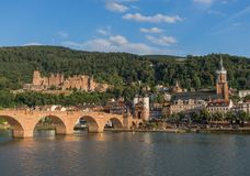 The wonderful Old Town of Heidelberg royalty free stock photo