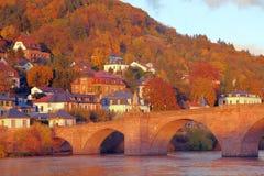 Heidelberg im Fall Lizenzfreie Stockbilder