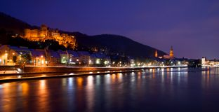 Heidelberg kasztel Obrazy Stock