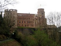 Heidelberg kasztel w Niemcy, Europa obrazy royalty free