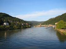 Heidelberg, landscape. Nice wiev from heidelberg city Stock Images