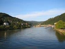 Heidelberg, landschap Stock Afbeeldingen