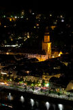 Heidelberg by Night. The Medieval City of Heidelberg at night in summer royalty free stock photo
